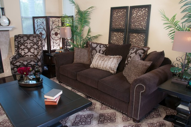 Roxanne Traditional Living Room San Diego By