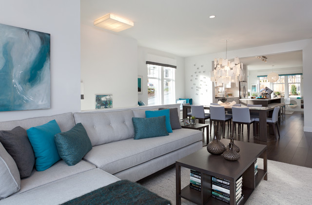 Roxton Contemporary Living Room Vancouver By