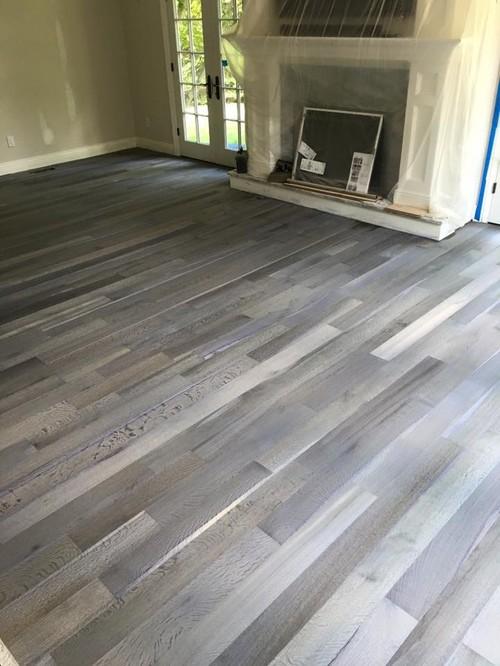 fumed wood flooring