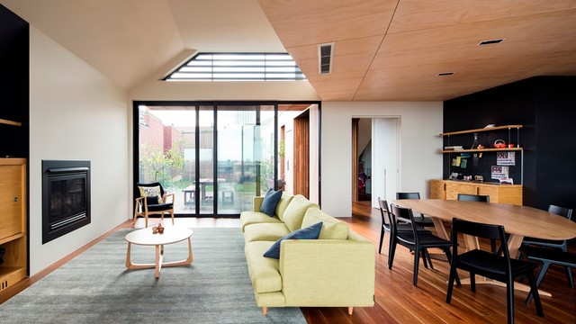 Rucker's Hill House - Contemporary - Living Room - Melbourne - by ...