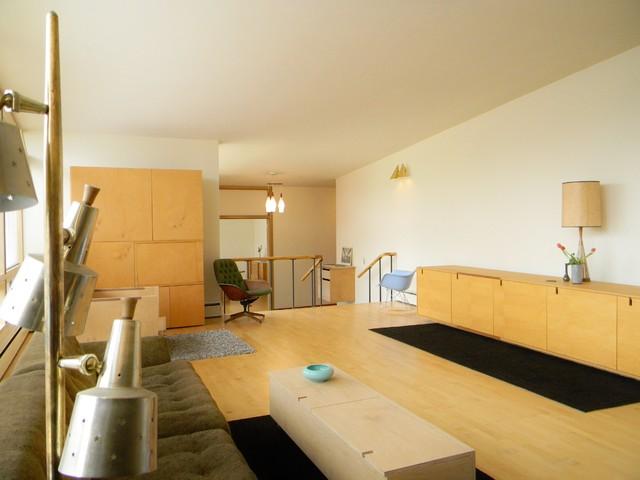 modern living room by Kimberley Bryan