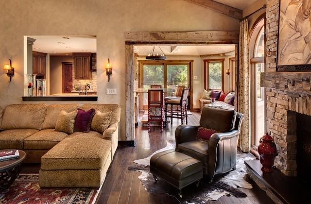 Rustic Chic Living Room rustic chic - rustic - living room - milwaukee -renaissance