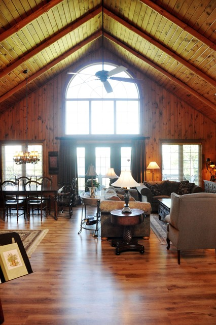 Rustic Cottage - Rustic - Living Room - toronto - by ...