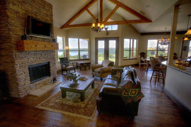 Rustic Elegance traditional-living-room
