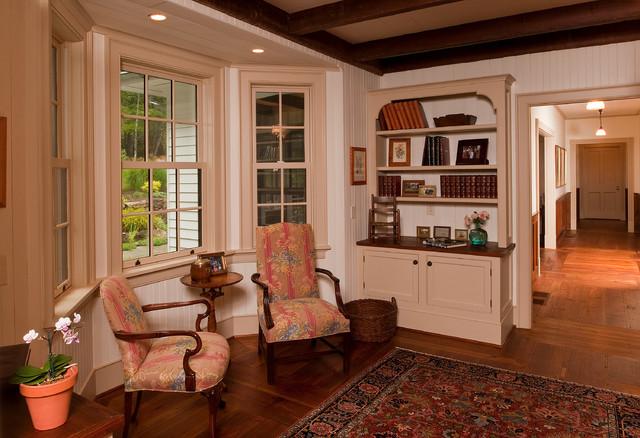 Rustic elegance durham nc farmhouse living room for Rustic elegant living room