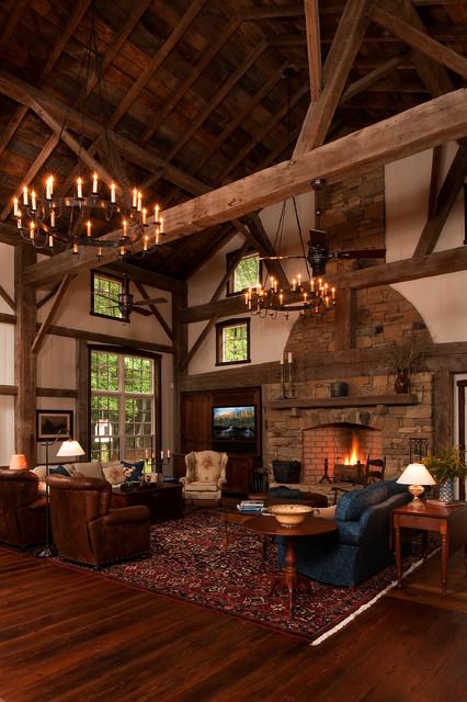 rustic elegance durham nc rustic living room
