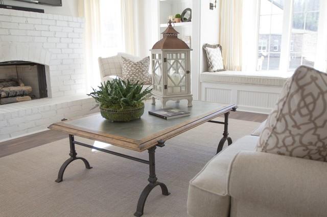 Rustic Elegance farmhouse-living-room
