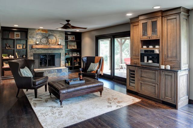 rustic traditional living room ideas | Rustic Elegance - Traditional - Living Room - Other - by ...