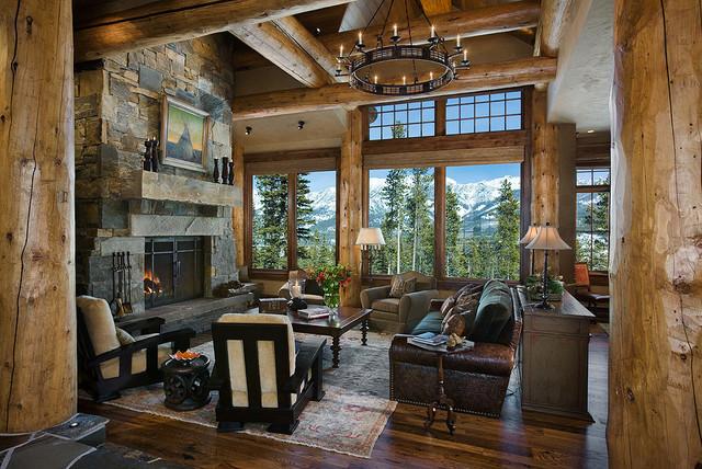 Rustic Living Room rustic-living-room