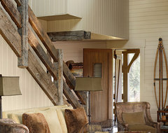Marsh Residence rustic-living-room