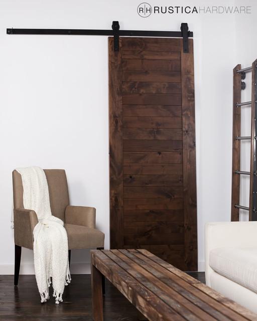 Rustica Hardware Australia: Horizontal Slat Barn Door