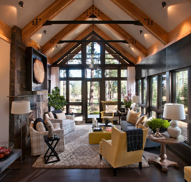 Rustic Living Rooms: Rustic Living Room