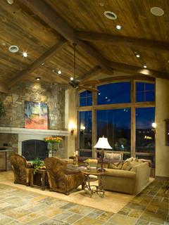 Moffat Way Rustic Living Room Denver By Terra