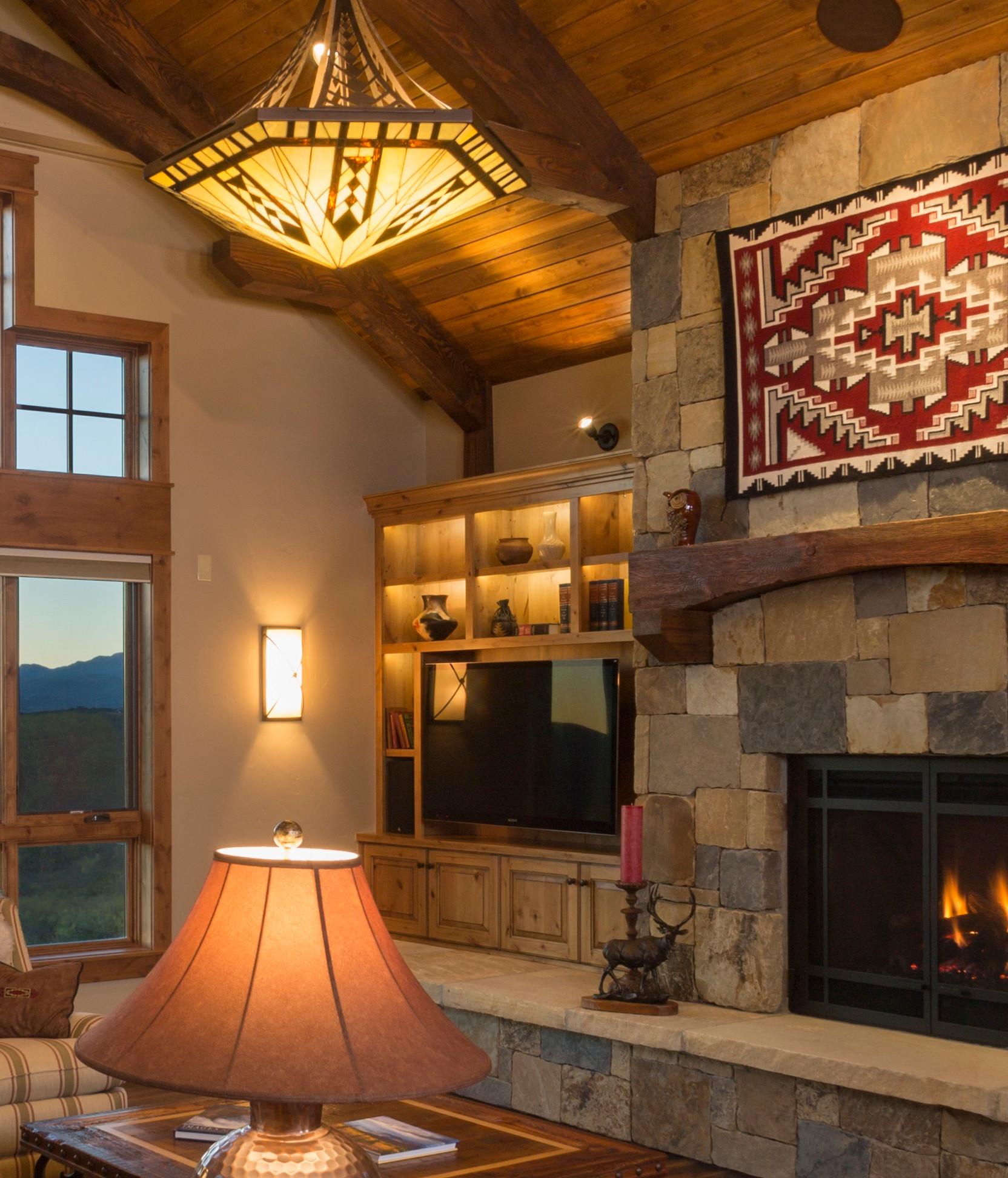 Rustic Mountain Homes