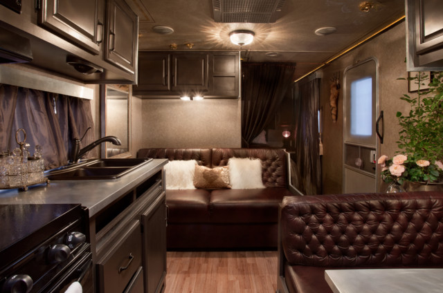 Rv remodel for Design caravan renovation ideas home