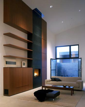 Ryan Associates - New Homes - SOMA Townhouse modern-living-room