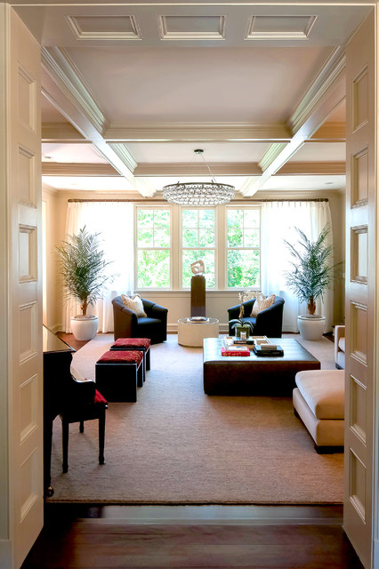 Rye ny dutch colonial traditional living room new - Dutch colonial interior design ideas ...