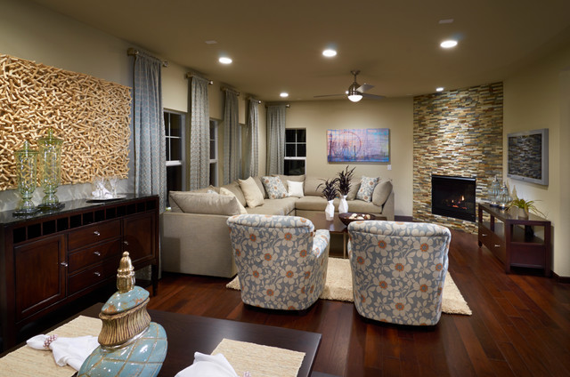 Ryland Homes Pioneer Ridge Modesl Contemporary Living