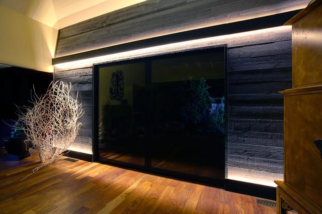 Sacramento Campus Commons Condo. Nar Fine Carpentry. Sacramento. El Dorado Hills mediterranean-living-room