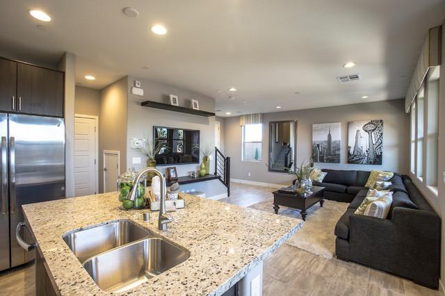Eclectic Living Room Las Vegas