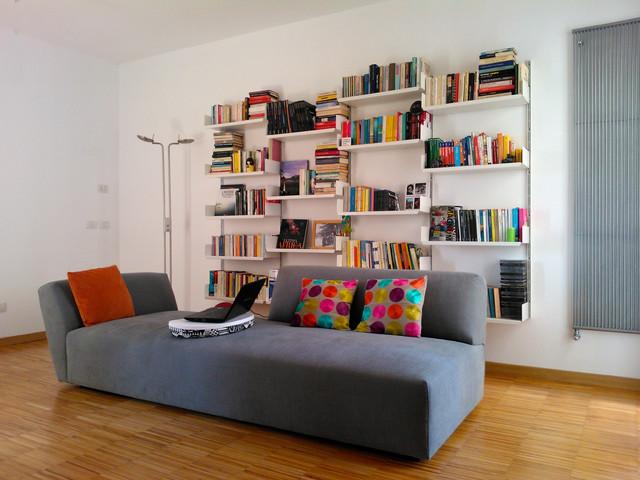 sala contemporaneo-soggiorno