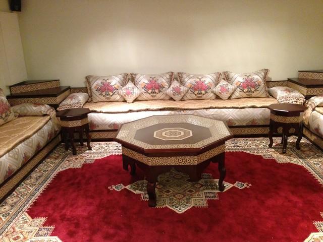 salon marocain -> Table Salon Marocain