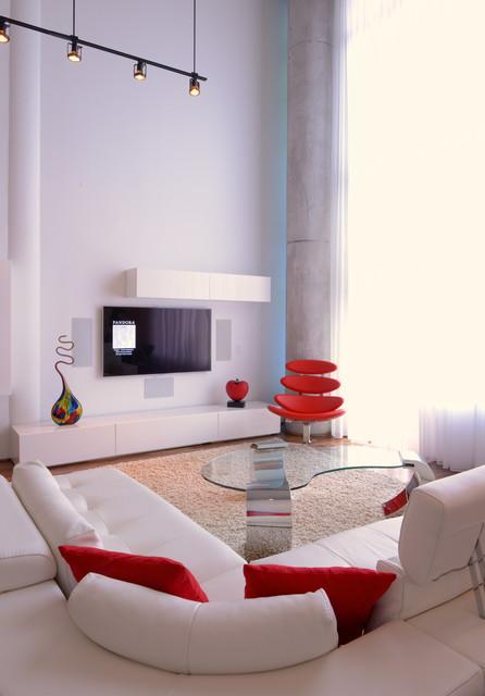 Samara Residence Andrea Petor Modern Living Room