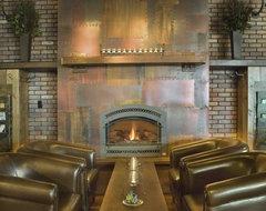 Samplings, Frisco CO rustic-living-room