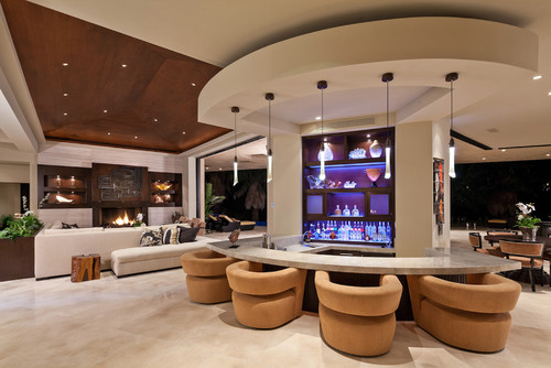 Contemporary Living Room By San Diego Interior Designers Decorators Blackbird Interiors