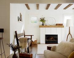 San Anselmo Living Room rustic-living-room