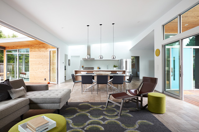 Mid Century Home Design.  Houzz Tour Taking a Midcentury Home From Maze to Amazing