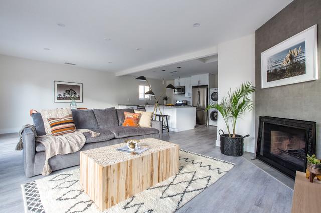 San Diego Beach House Fusion Living Room