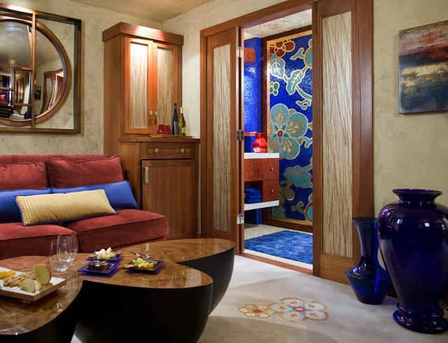 San Diego Contemporary Contemporary Living Room San