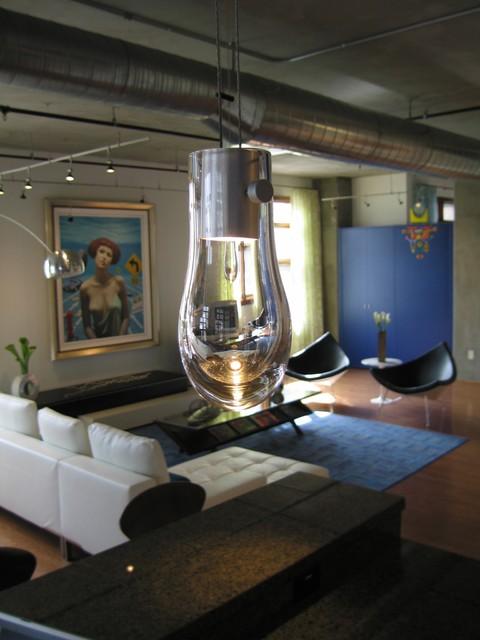 San Diego Loft contemporary-living-room