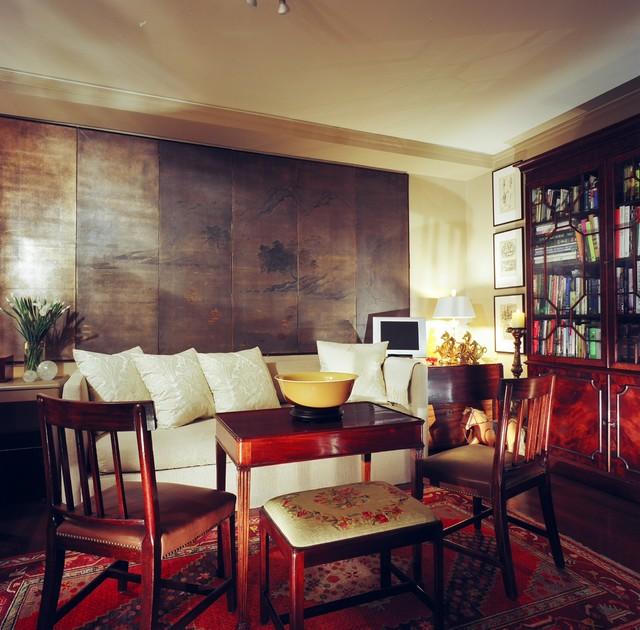 SAN FRANCISCO APARTMENT traditional-living-room