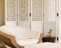 San Francisco Decorator Showcase tropical-living-room
