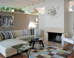 San Francisco Home Staging contemporary living room