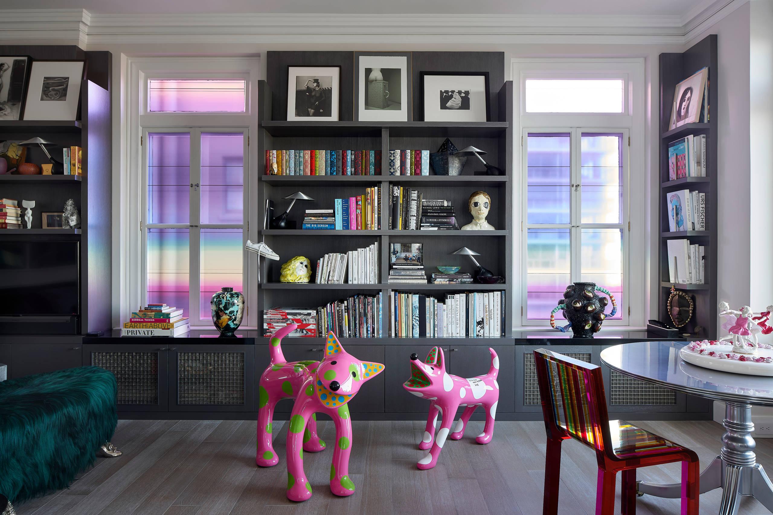 San Francisco Loft- Study off of Living room