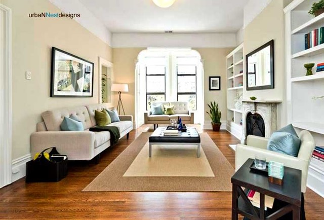 San Francisco Modern Victorian Staging