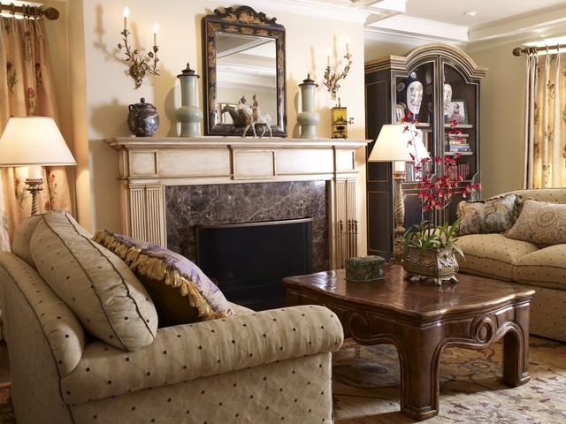 San Francisco Pacific Heights Residence traditional-living-room