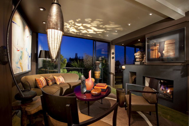San Francisco Residence Eclectic Living Room San Francisco By Randall Whitehead Lighting