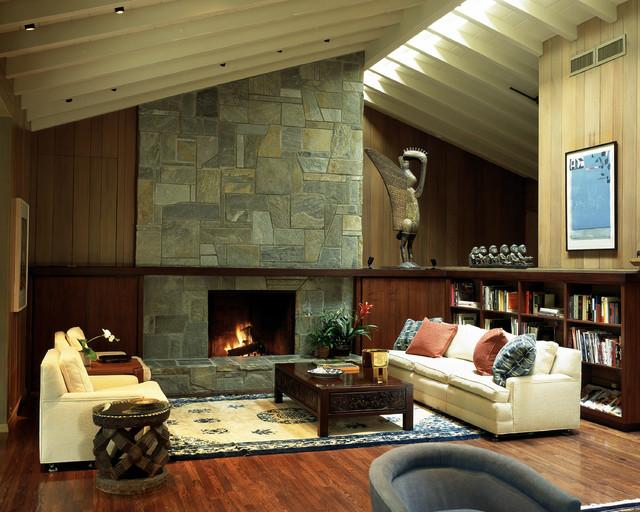 San marino residence contemporary living room los for The family room san marino
