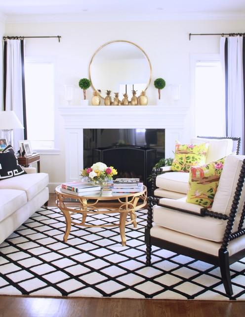 San Mateo, CA Living Room transitional-living-room