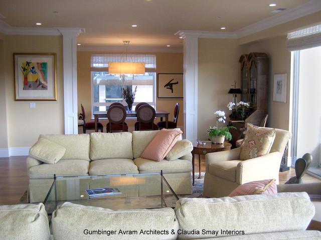 San Mateo residence contemporary-living-room