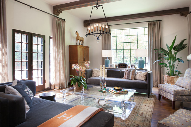 Houzz Tour A Mix Of Modern And Spanish Inspired Decor
