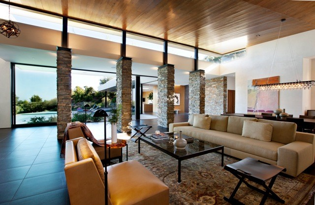 San Onofre contemporary-living-room