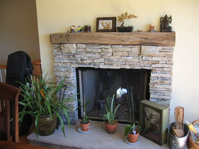 San Rafael Fire Place traditional-living-room