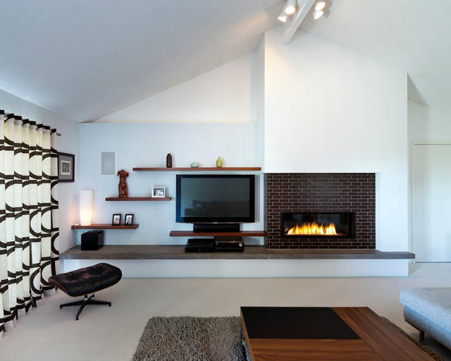 San Rafael Mid Century - Modern - Living Room - San Francisco - by ...