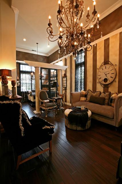 San Ramon Executive Residence mediterranean-living-room
