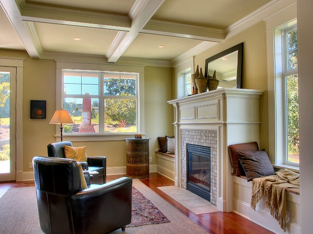 Viewridge Craftsman Spec traditional-living-room
